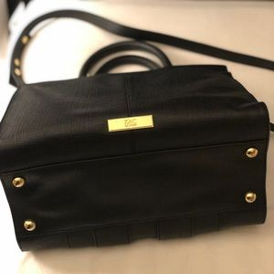 Shirley Bow Leather Satchel